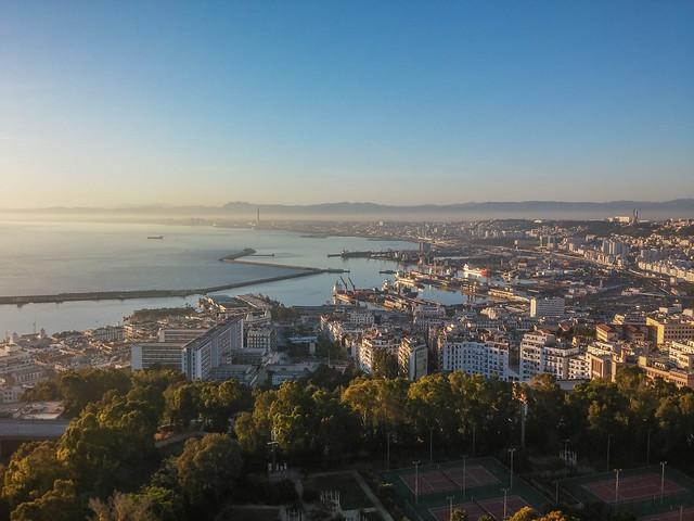Amanecer en Argel