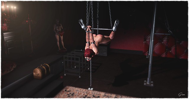 mistress learns her slave to fly