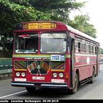 NB-9485 Godakawela Depot Ashok Leyland -  Viking 210 Turbo B+ type Bus at Rathnapura in 05.09.2019