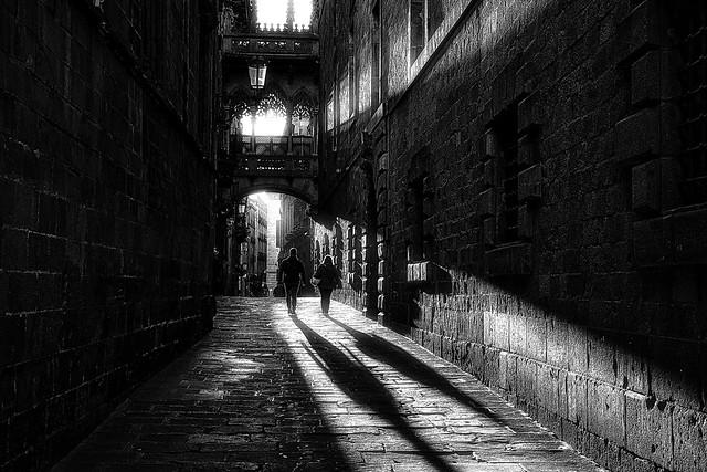 Bisbe street -- Barcelona-