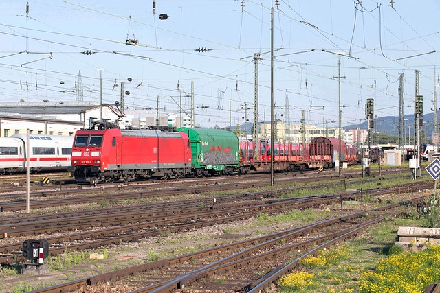 DB Cargo 185 106 Basel Badischer Bahnhof