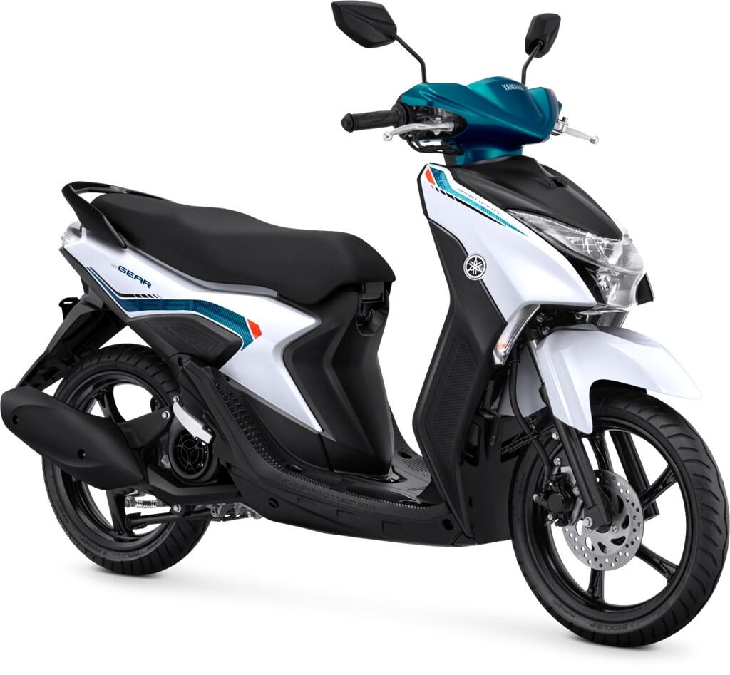 Yamaha GEAR 125 Standard Version Metallic White