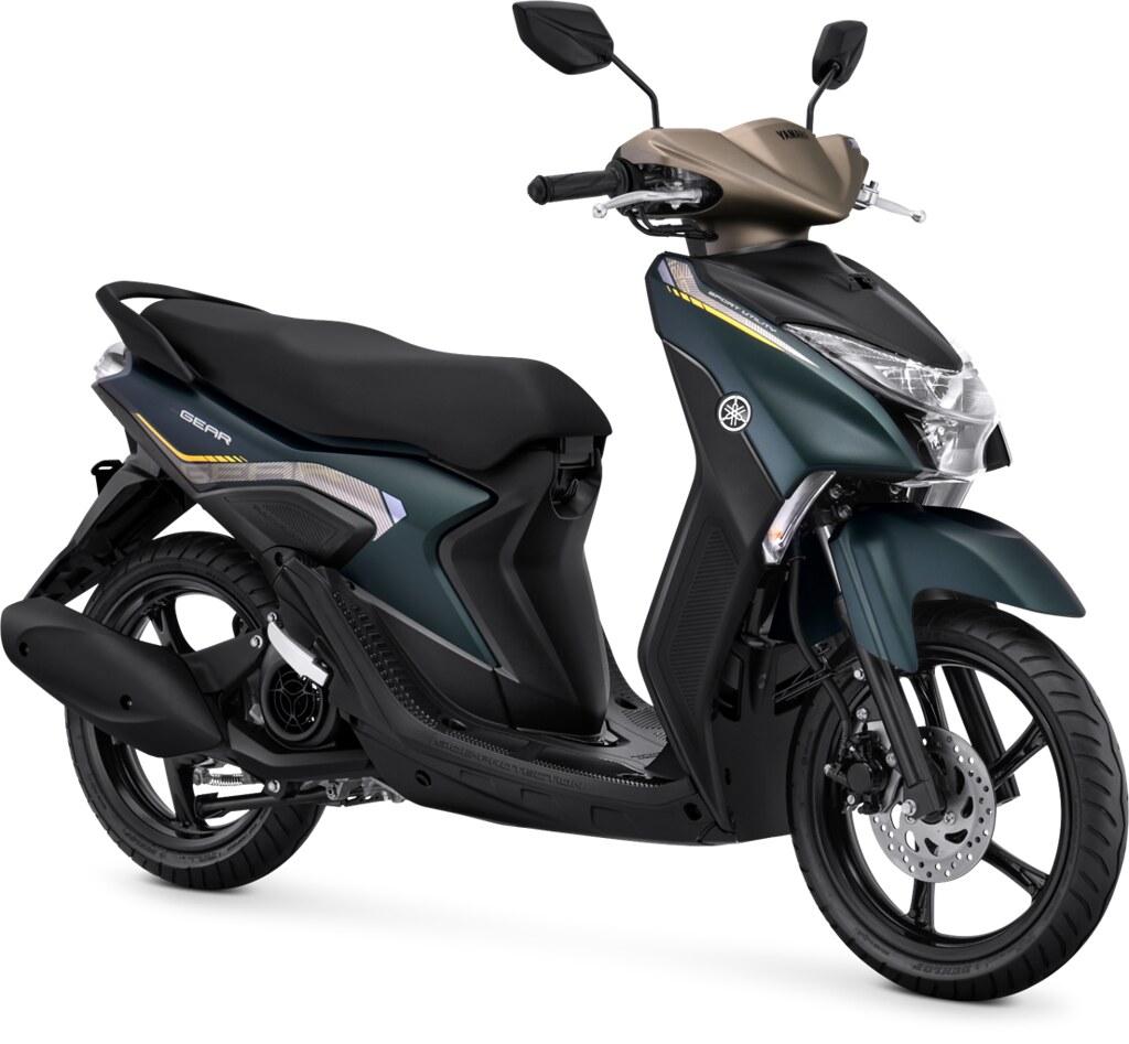 Yamaha GEAR 125 Standard Version Matte Greenish