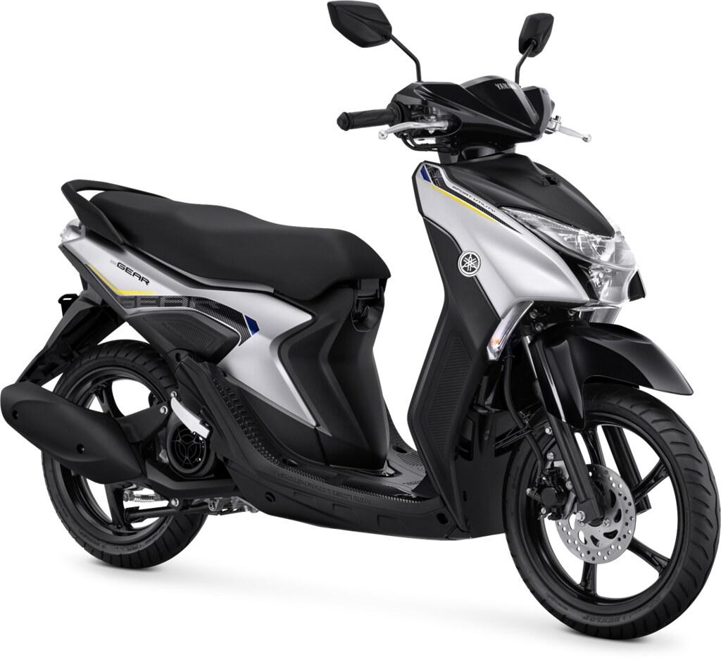 Yamaha GEAR 125 Standard Version Matte Silver