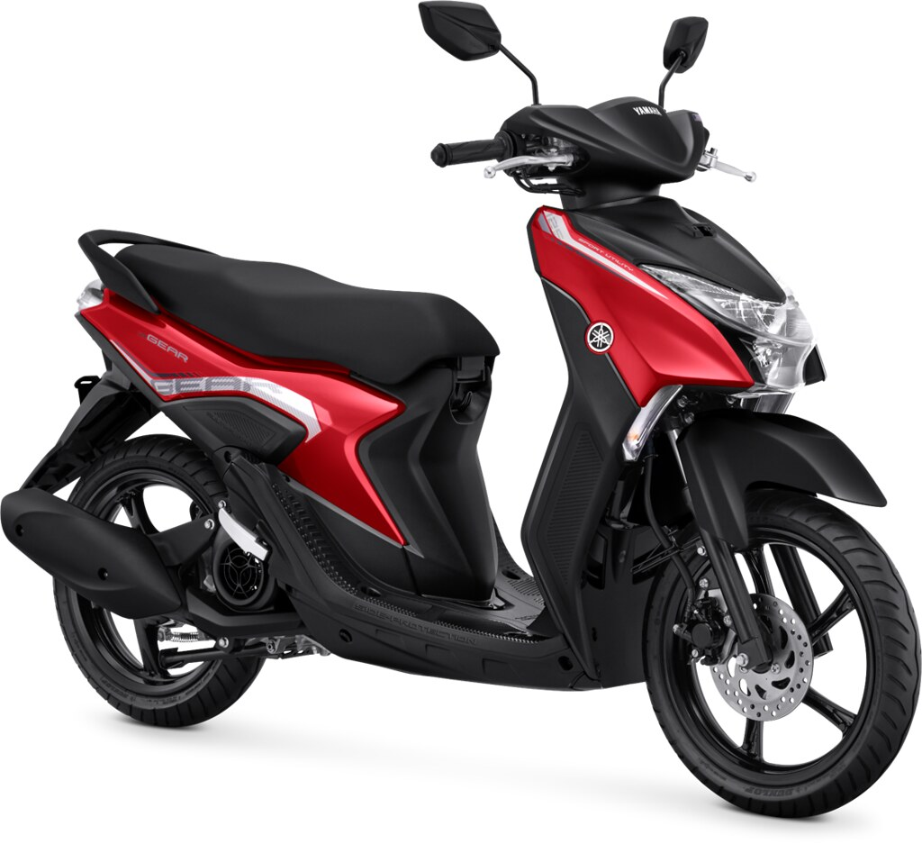 Yamaha GEAR 125 Standard Version Metallic Red