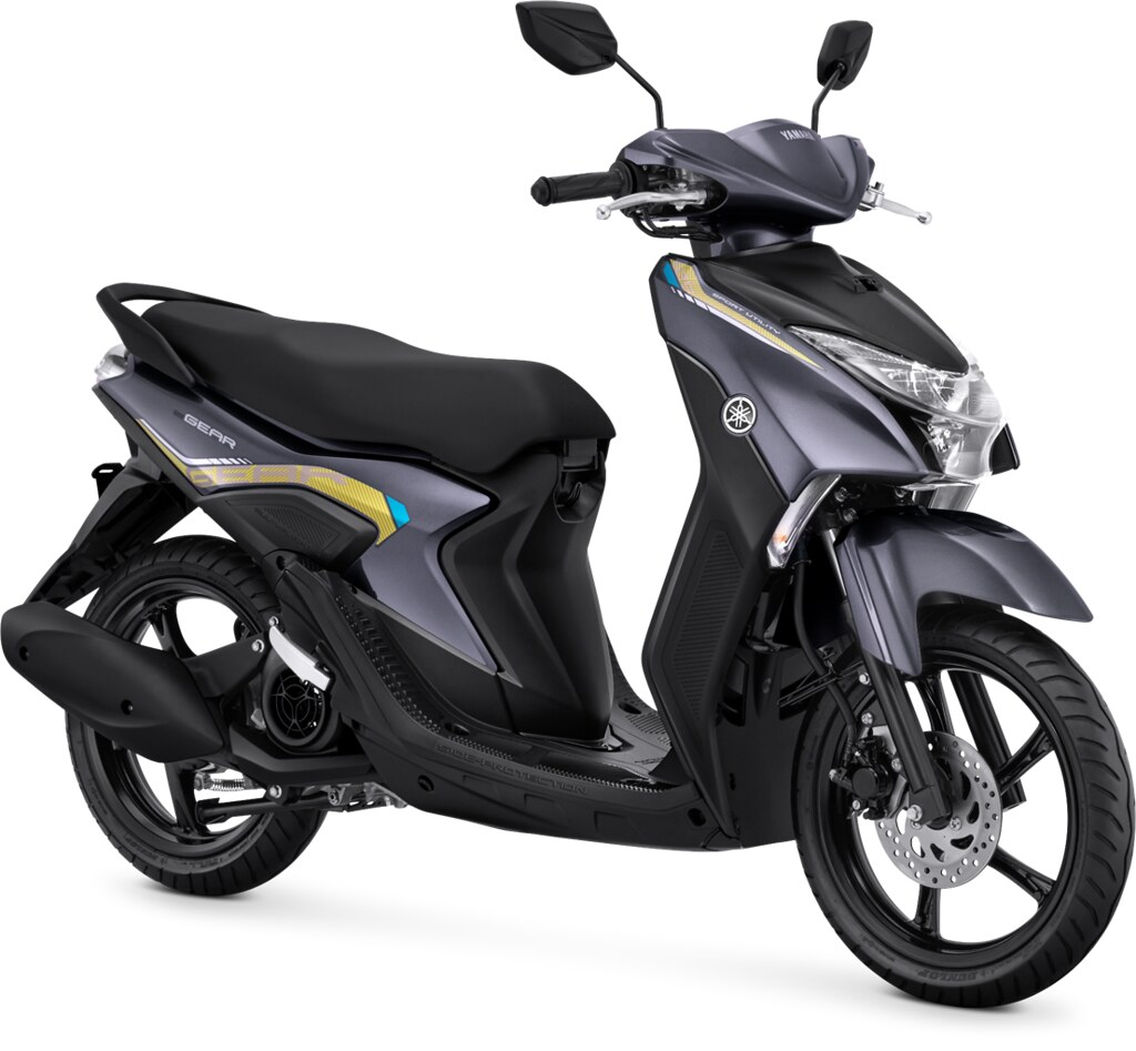 Yamaha GEAR 125 Standard Version Metallic Grey