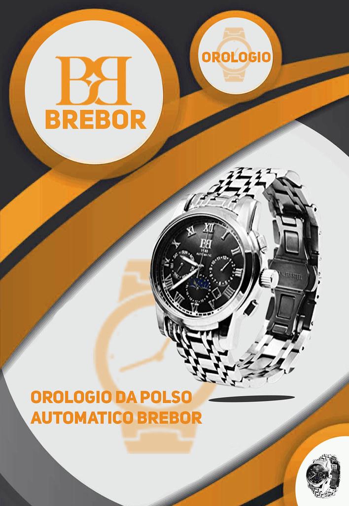 L'orologio da polso automatico Brebor è l'ideale se stai cercando qualcosa di durevole. È resistente agli urti e all'acqua fino a 100 metri