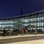 New UCLan building at night