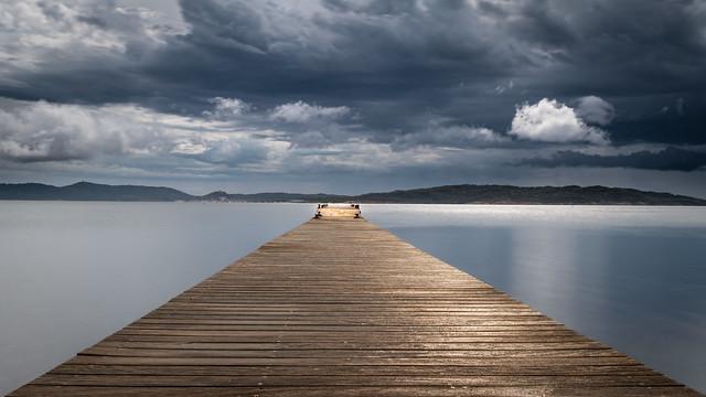 Le ponton de la Tour Fondue à Hyeres!