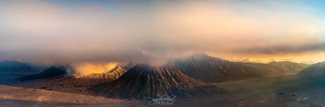 Panorama II Mt Bromo - East Java