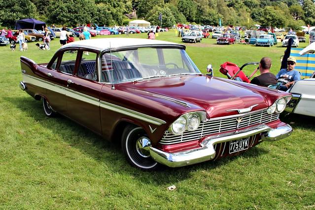 819 Plymouth Bevedere (3rd Gen) (1957) 775 UYK (Chtristine Replica)