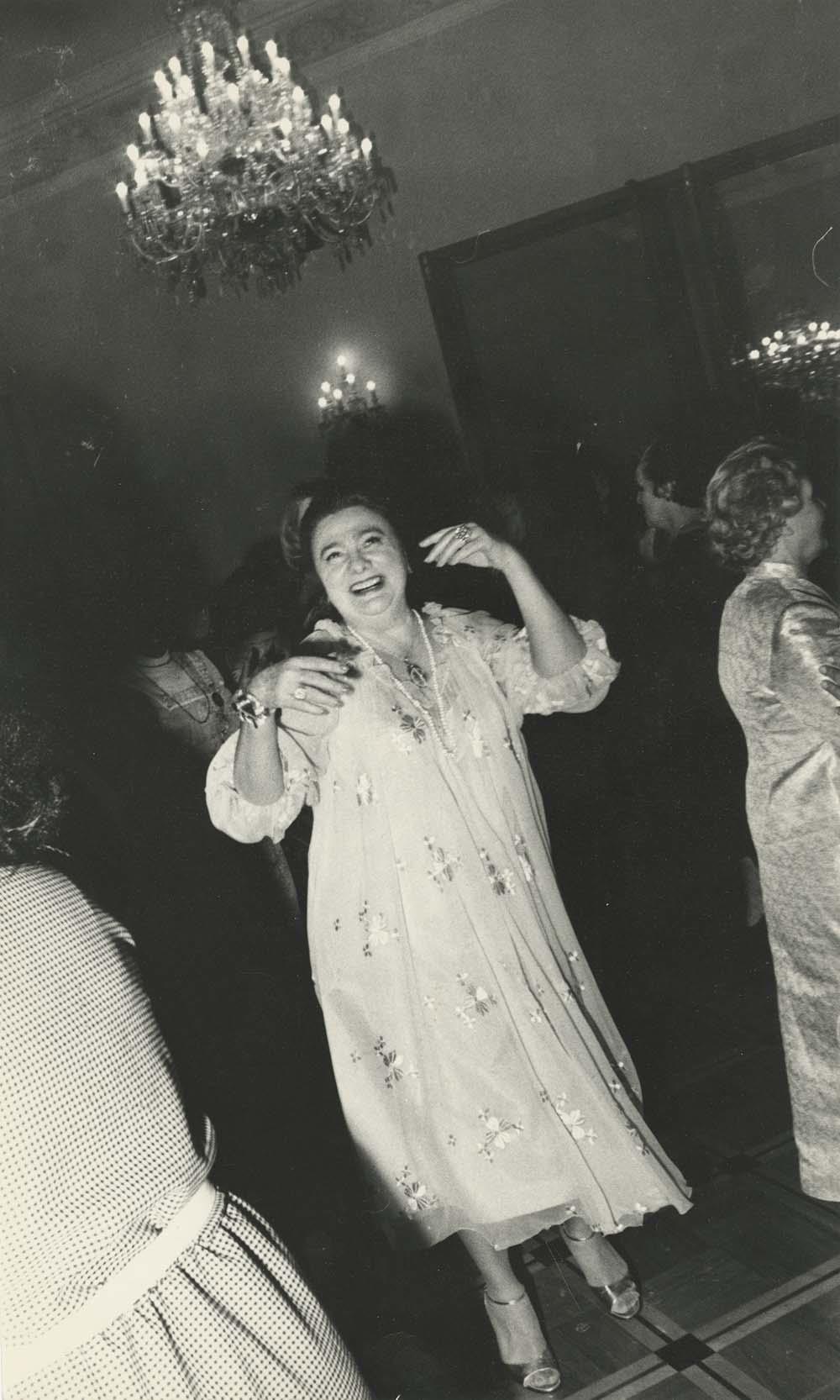 1980. Г. Брежнева на приеме в Комитете советских женщин