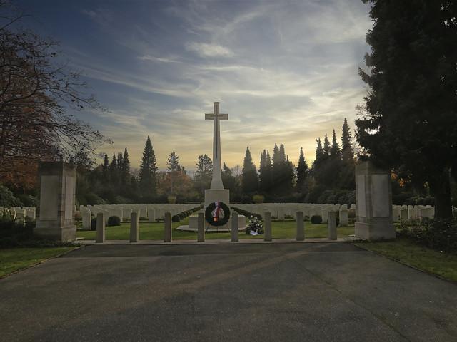 Hamburg Cemetery WW1