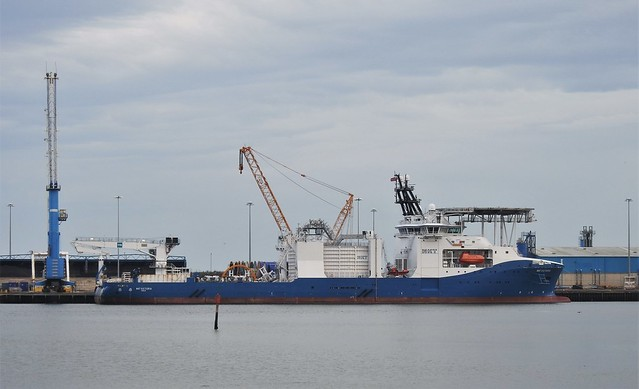 NKT Victoria - Cable-Laying Vessel - Cambois, Blyth