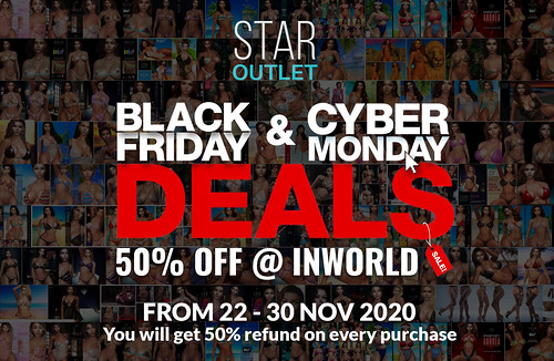 50% Off @ STAR OUTLET INWORLD until 30 November.