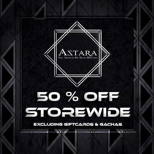 Astara Black Friday Sale 2020