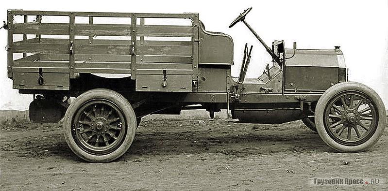 Полуторатонный грузовик FIAT 15-Ter, модель 1913 г.