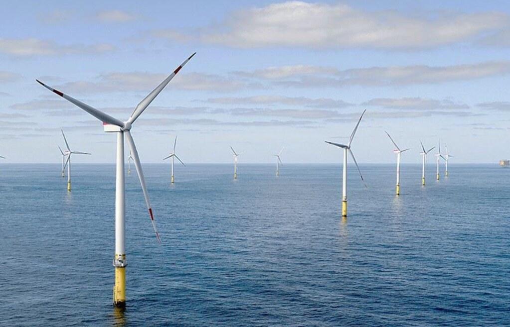 離岸風場示意圖。照片來源:會議資料