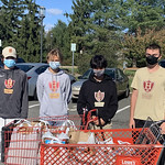 HHS Boys Soccer Team Thanksgiving Meals Donation