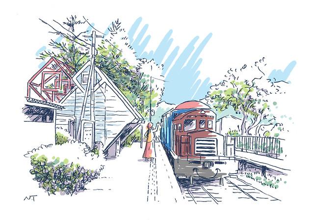 南阿蘇鉄道 中松駅