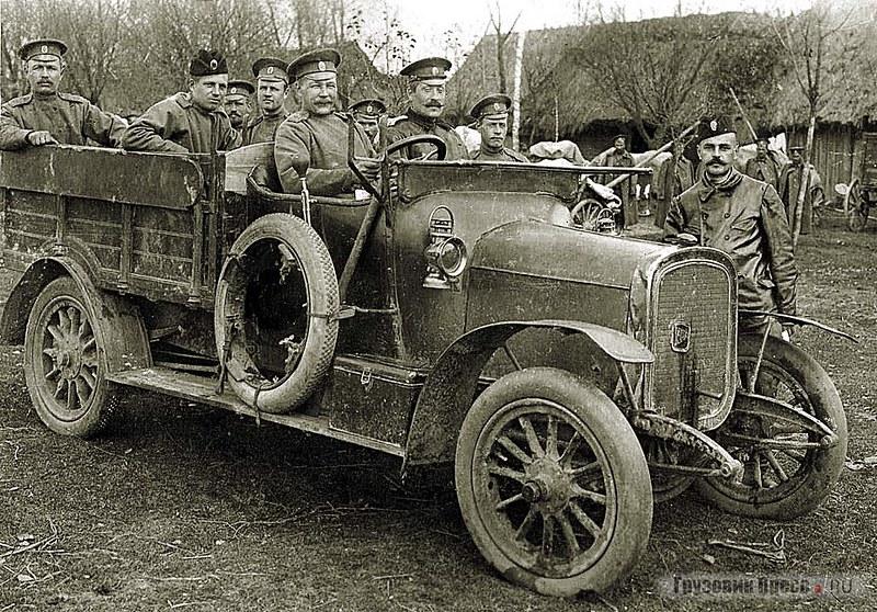 Грузовик Delahaye 32-C. 16-й Авиаотряд, 1916 г.