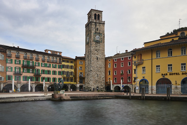 Town of riva del garda