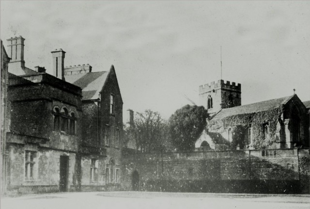 Annesley Hall & Old Church - 1920's