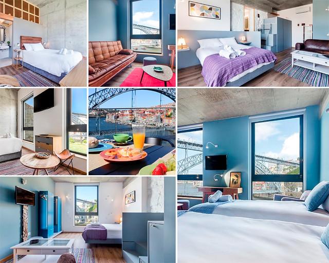 Bridge It Suites, de los mejores hoteles baratos de Oporto
