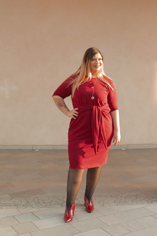 outfit monocromatico con abito byalis (6)
