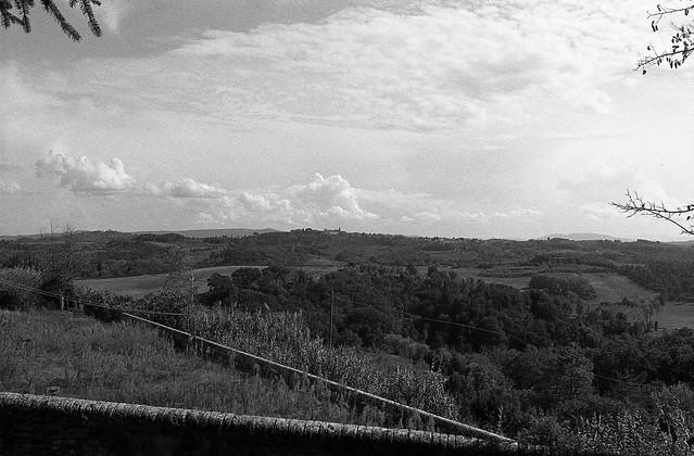 Vista da Villa Saletta