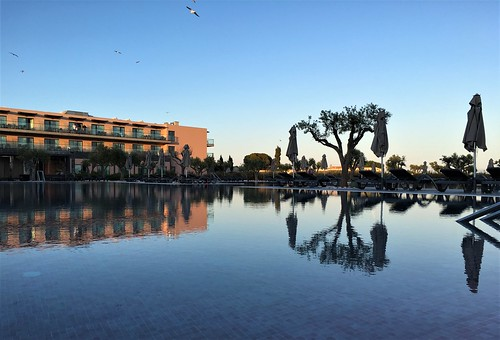 portugal travel iphone lagos sunset villagale iphone6s reflection pool water hotel