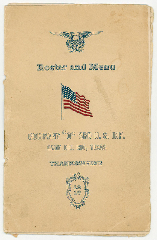 1918-11-28-Thanksgiving-Company C-Camp Del Rio, TX-01