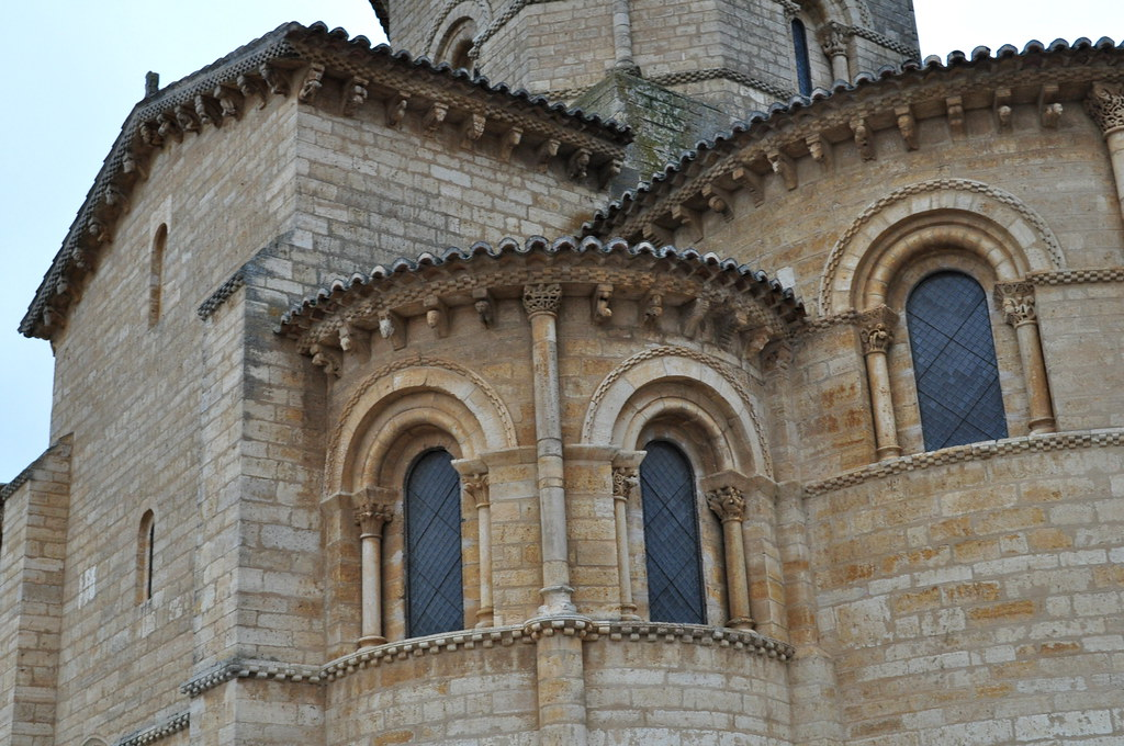 Eglise romane (XIe siècle), Saint Martin de Tours, Frómista, Tierra de Campos, province de Palencia, Castille-León, Espagne.