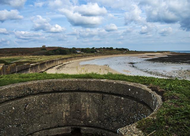 Longis from the Nunnery, Alderney