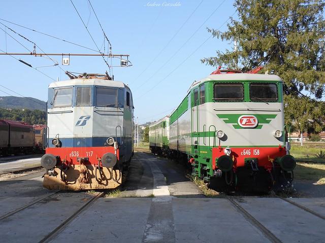 Deposito Locomotive La Spezia Migliarina