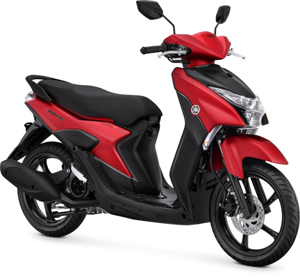 Yamaha GEAR 125 S Version Matte Red