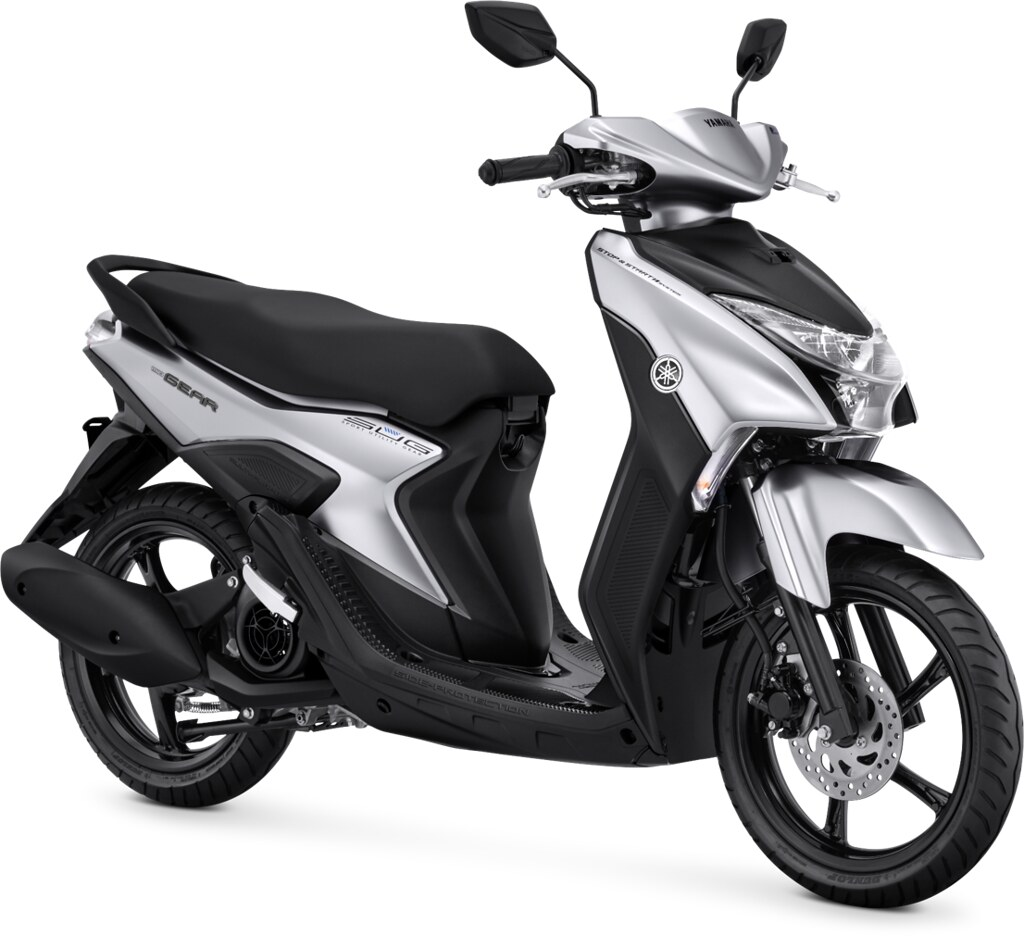Yamaha GEAR 125 S Version Prestige Silver