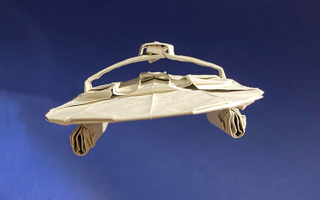 U.S.S.Reliant origami New photo for the new diagram front view