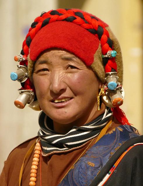 Jeune femme Khampa