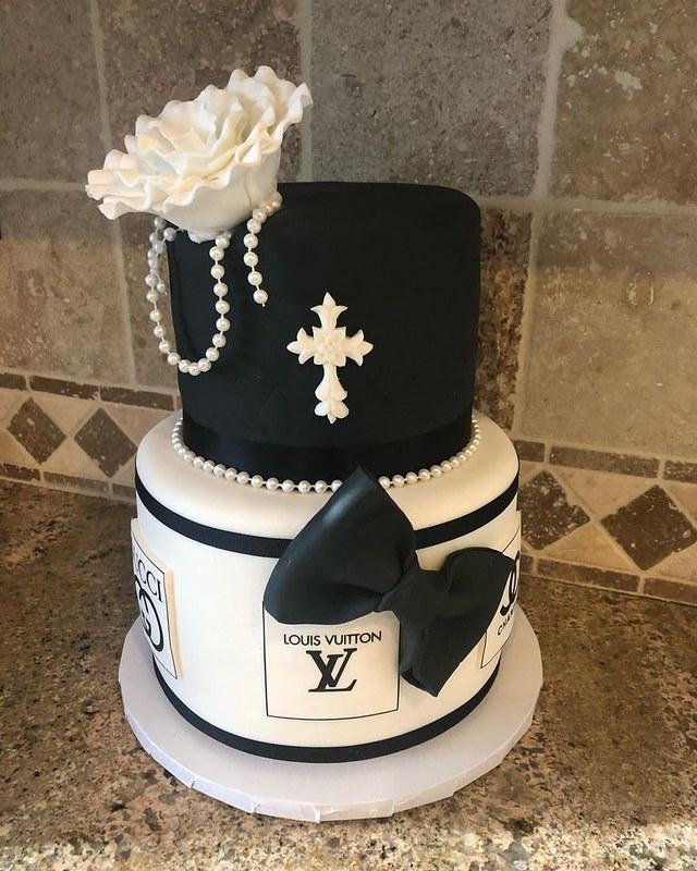Cake by Flour House Bakery