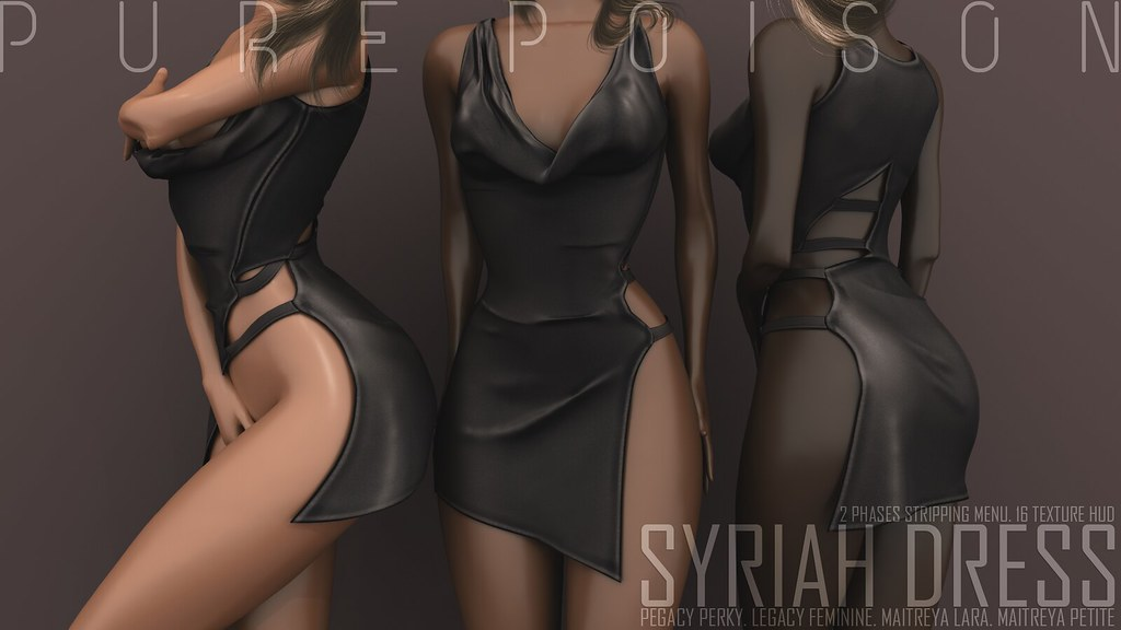 Pure Poison - Syriah Dress - UBER
