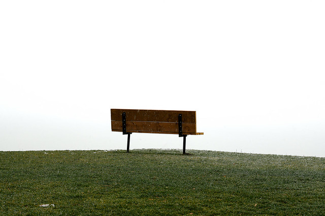 Bench on the Cliff