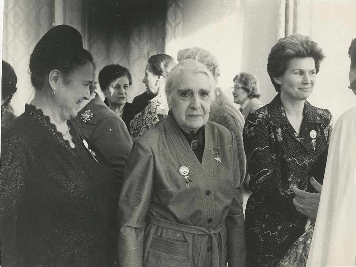 1980. На приеме в Комитете советских женщин