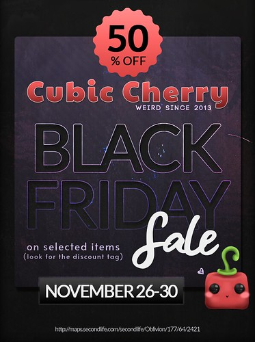 Cubic Cherry Black Friday Sale 2020