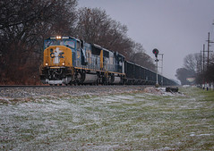 CSXT 4814 @ Lake Station, IN