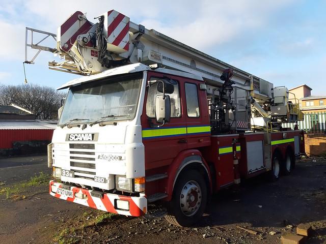 G727UNK Ex Cleveland/Bedfordshire Fire Service