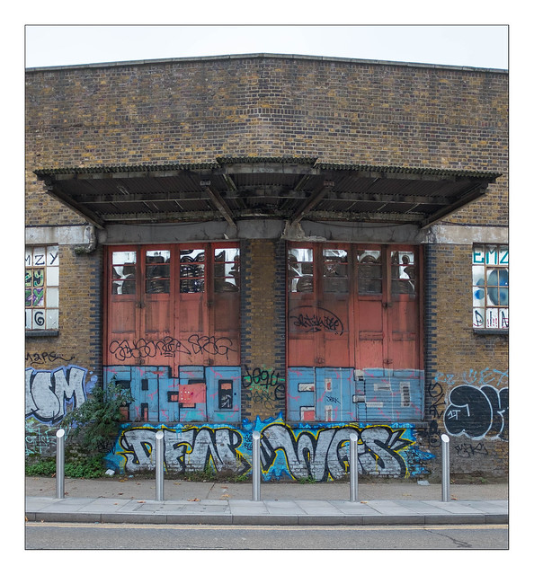 The Built Environment, Hackney, East London, England.