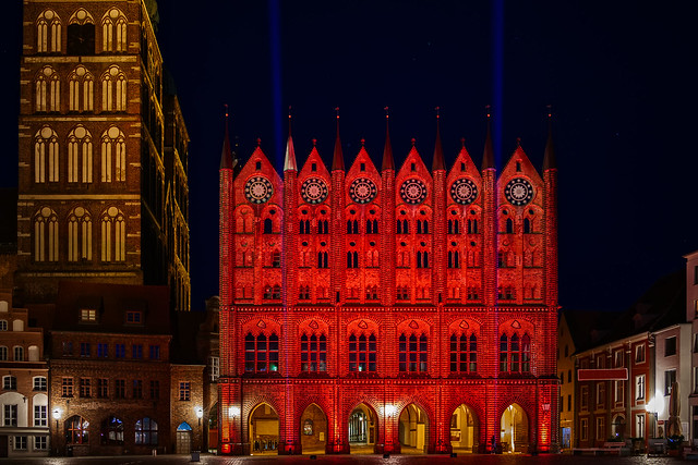 The town hall of the Hanseatic city of Stralsund