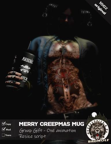 Badwolf - Merry Creepmas Mug - Group Gift