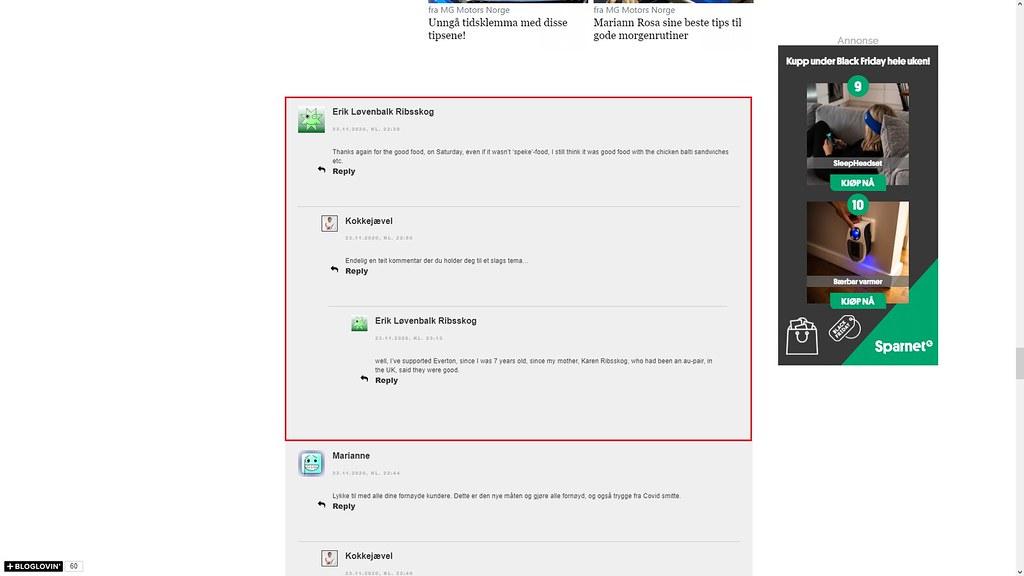 nettmobbing 25. november 2